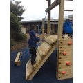 The new play area is so much fun!