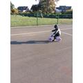 We are strengthening our gross motor skills