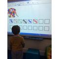 We had a go at drawing repeating patterns