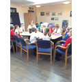 School Council invited Chartwells into school.