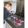 Chocolate cake baking