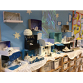 We created Dioramas inspired by our Polar learning