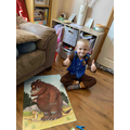 Thomas has been busy completing a Gruffola puzzle