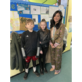 Ms Pham with Year 5