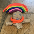 Adora-Bella's favourite teddy made from playdoh
