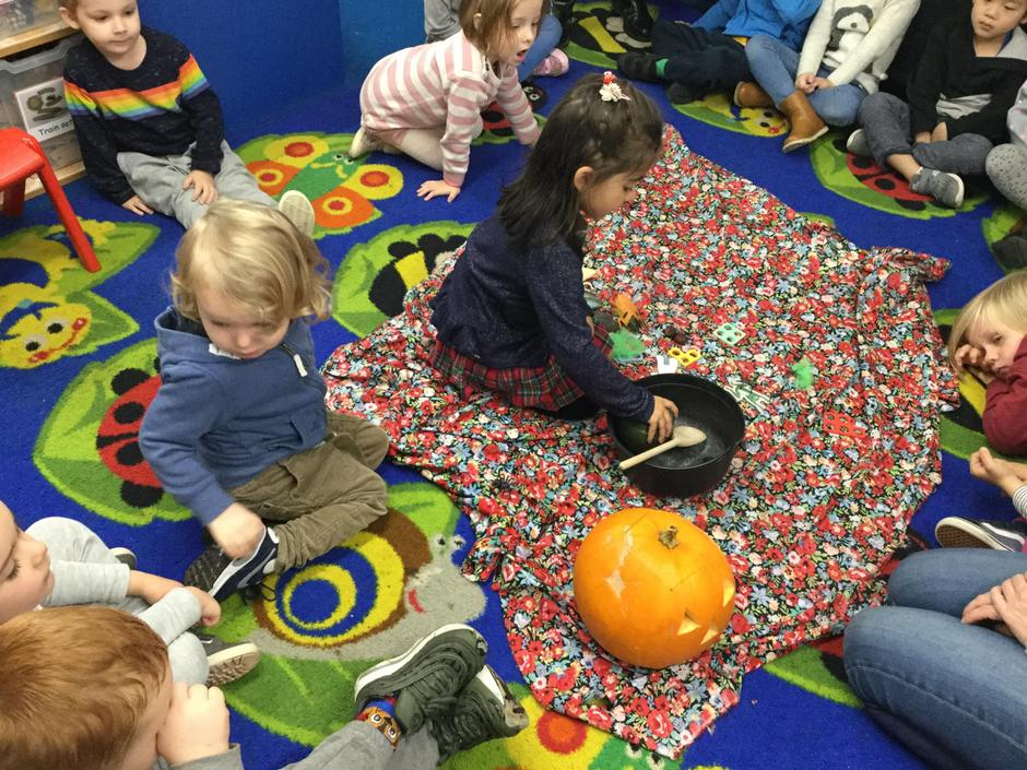 Counting objects going into the cauldron