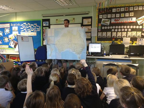 Mr Lean the explorer!