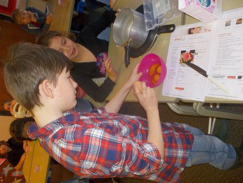 Cracking the egg