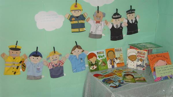 Some of our displays and learning environment