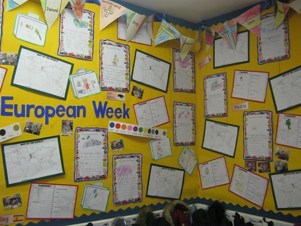 Celebrating European Week in Y1