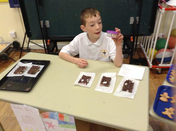 The Rocky Road treats sold out within 10 minutes!