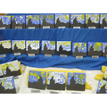 Y1 looked at Van Gogh's 'A Starry Night' painting