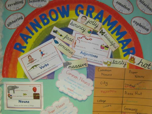 Grammar Wall from Y3