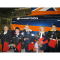 Hampson logo on the BLOODHOUND