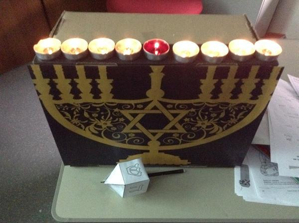 Learning about Hanukkah