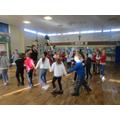Year 4 dancing