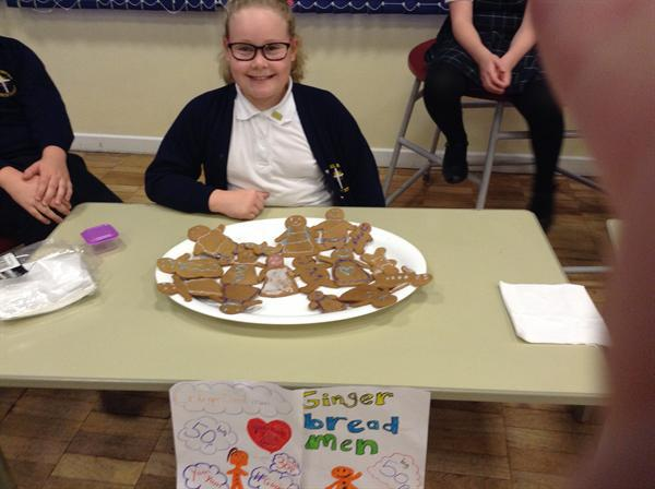 Selling treats in the hope of making a profit