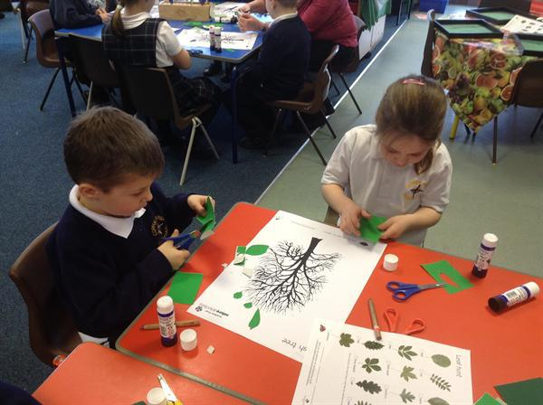 Making trees with the correct leaf shape!