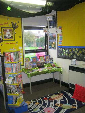 Our wonderful reading area.