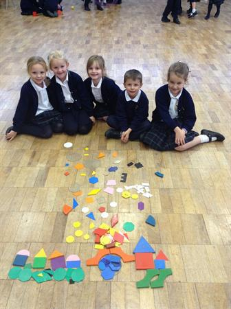 Firework Picture with 2D shapes!