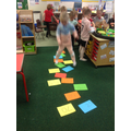 Counting in 5's Hopscotch