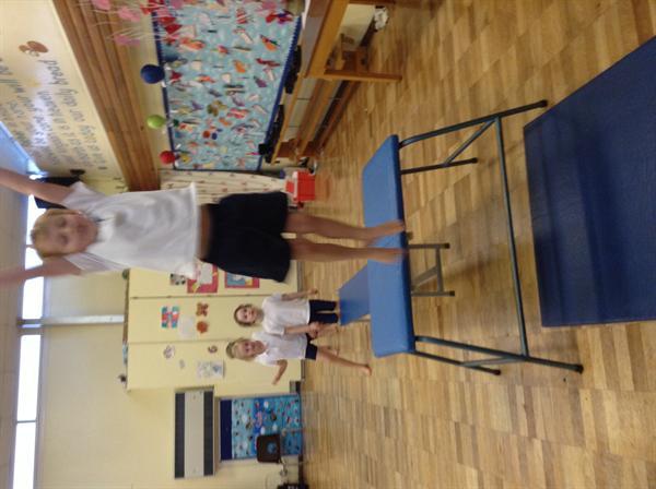 Our fantastic work in gymnastics!