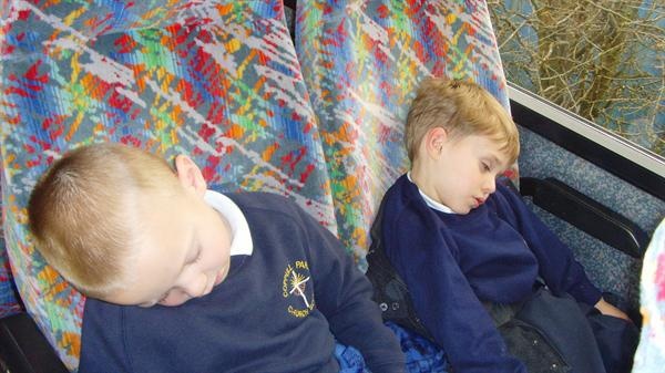 The Sea Life Centre really tired us all out!