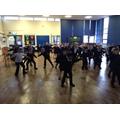 some fantastic dancing