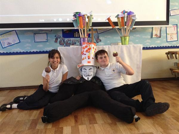 Celebrating Bonfire night with our firework poems