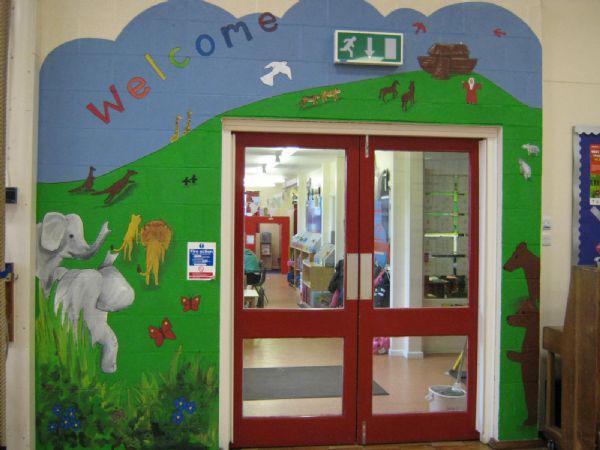 Infant Area Entrance