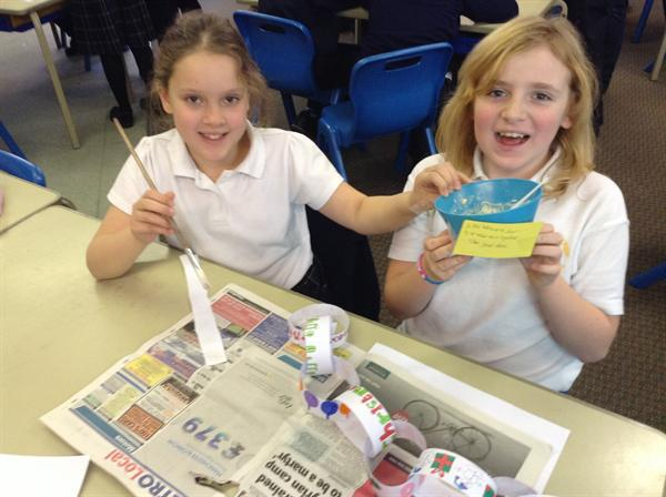 Using food to create our own super sticky glue