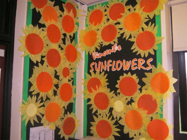 Sunflower Writing