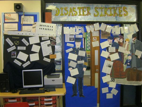 Entrance into the Y6 Classroom