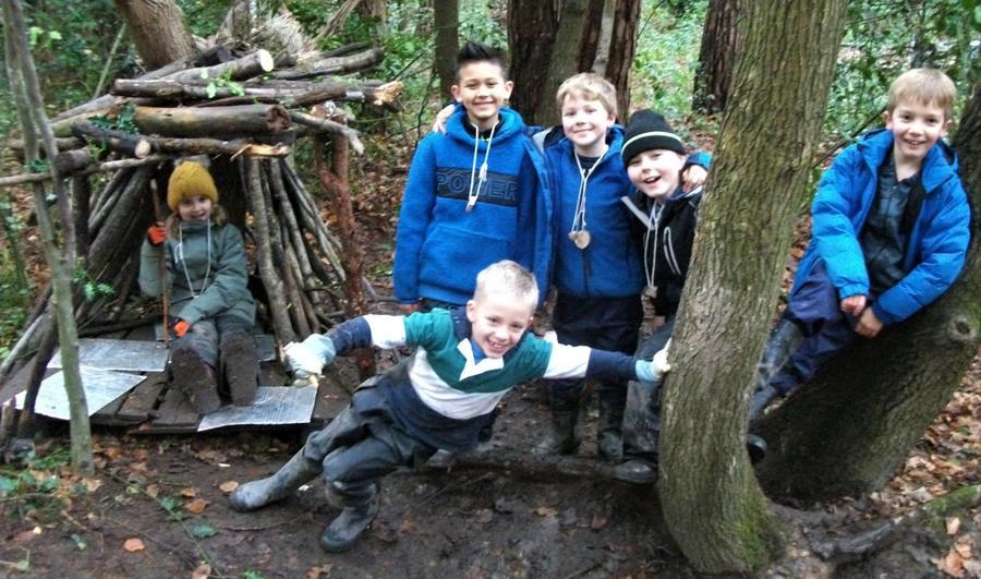 Forest School Den Building Fun!