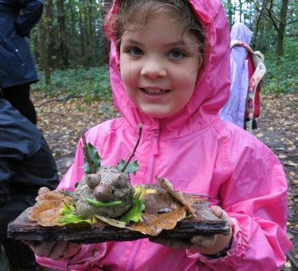 Freshly dug clay creates magical creatures