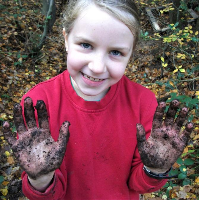 Forest School is getting sticky