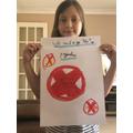 Livi's fab anti-racism and anti-prejudice poster!
