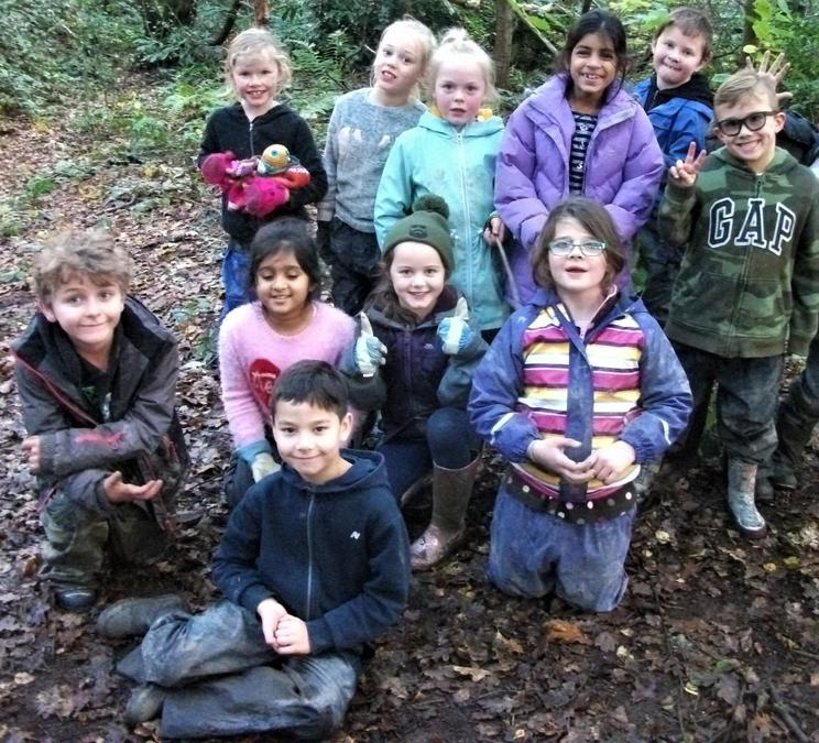Forest School Team Photo