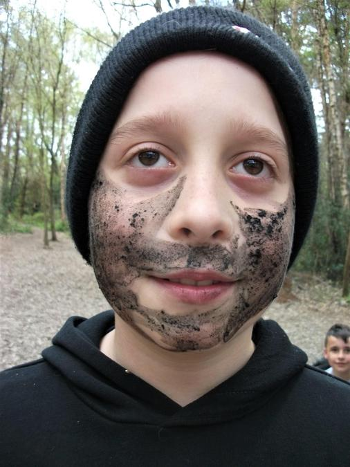 Is this mud or does he need a shave?