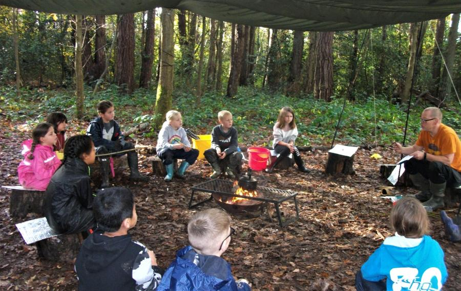 Campfire meeting