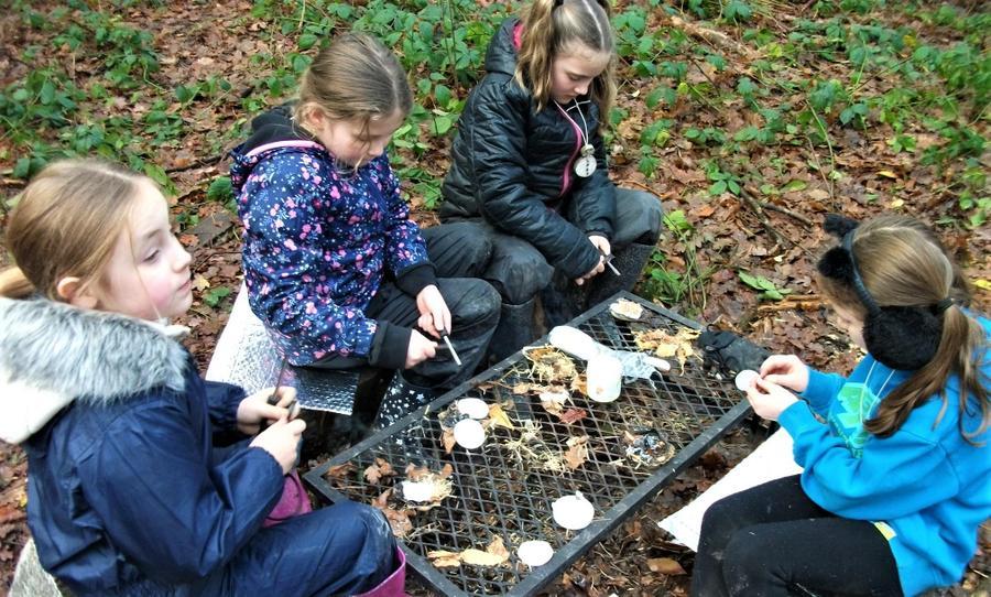 Teamwork in learning fire striking skills