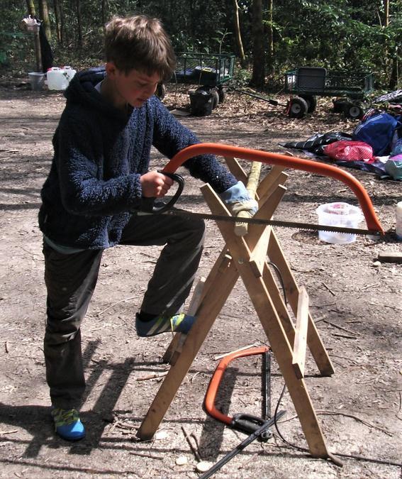 A master carpenter at work!