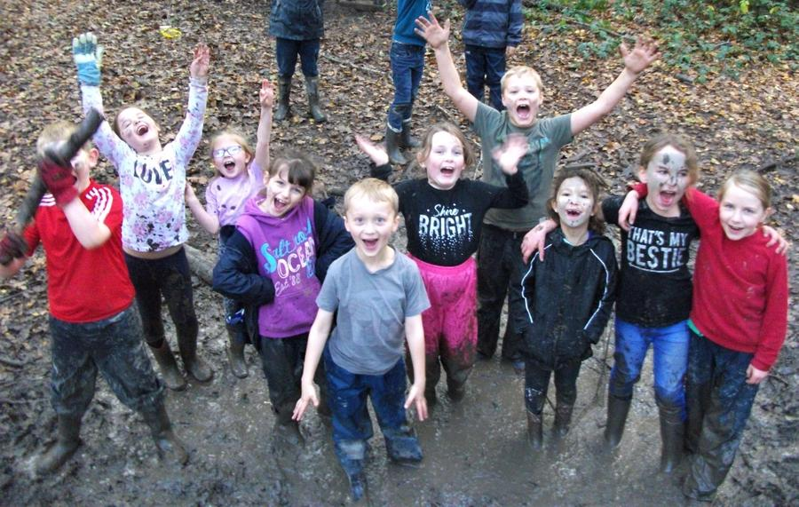 We LOVE a muddy Forest School