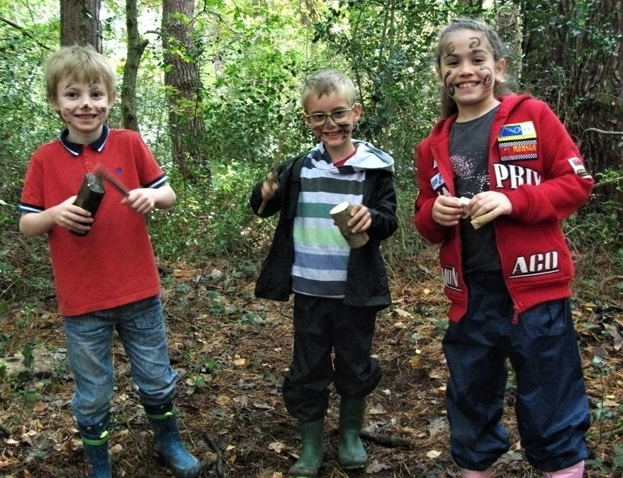 Woodland musical instruments and concert for all