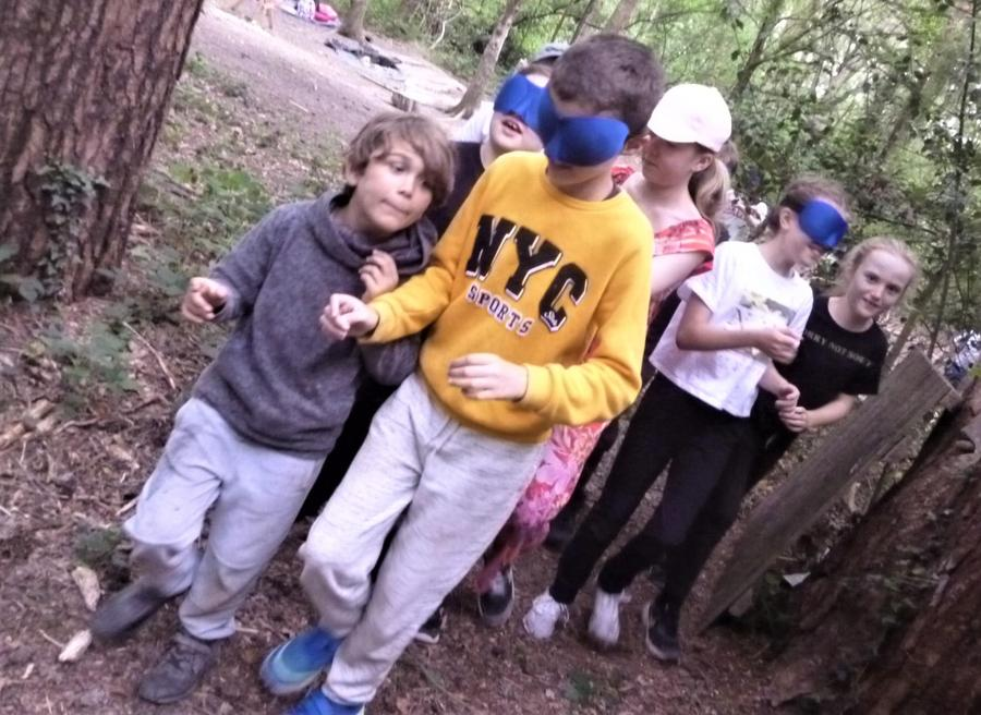 Mr T leads another blindfold trust trail into the unknown
