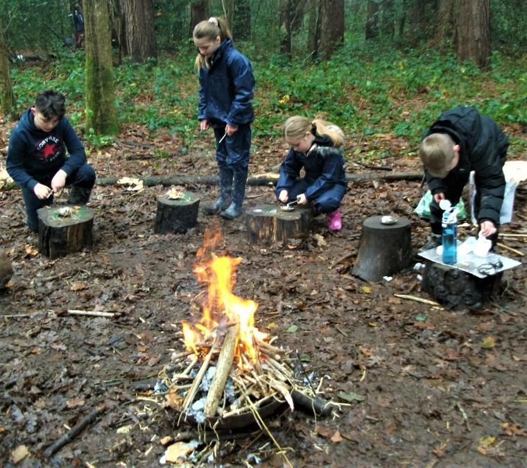 Campfire Crew success!