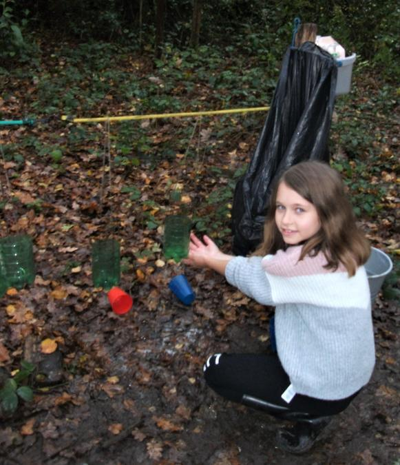 Our Forest School wash station