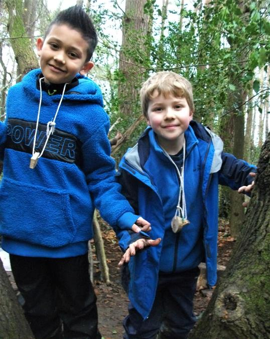 Forest School winter fun