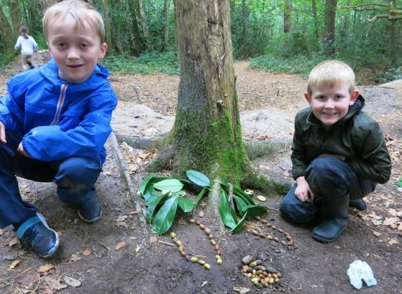Paired effort to create a secret fairy home