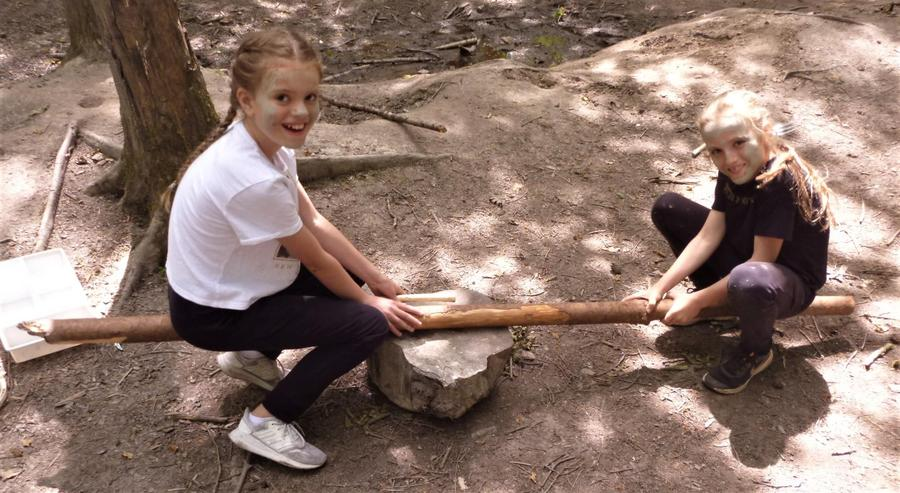 Forest School see-saw
